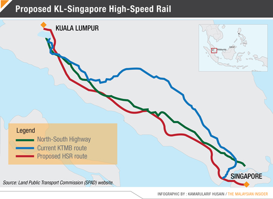 proposed HSR