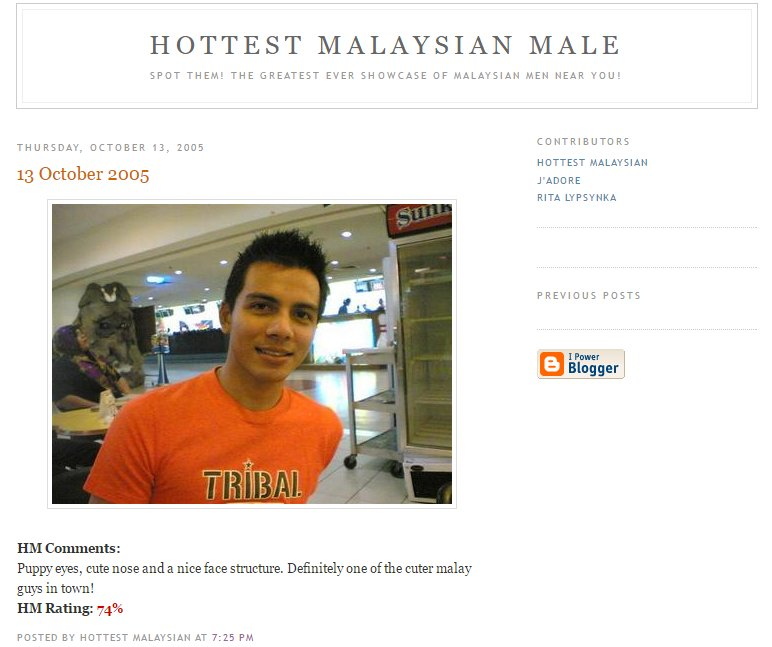 link: http://malaysianmale.blogspot.sg/2005/10/13-october-2005.html