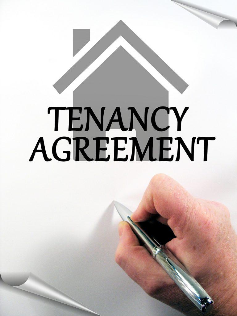 Rental Tenancy contract