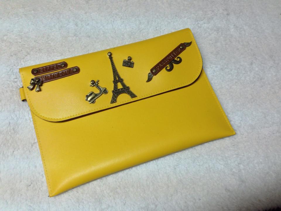 Image of a custom-made passport holder