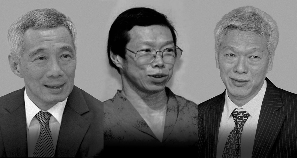 Which Lee family member gave away classified documents from LKY's house?