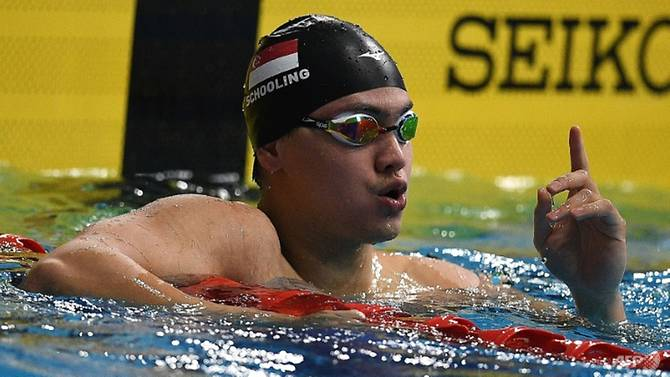 Afp National Swimmer Joseph Schooling Secured His Fourth And Fifth Sea Games