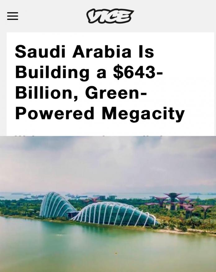 Saudi Arabia Building New City On Red Sea Coast
