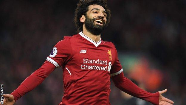 Mohamed Salah named PL Player of the Month for November
