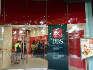 DBS interest rates to rise - Queue at DBS ATM at Holland village