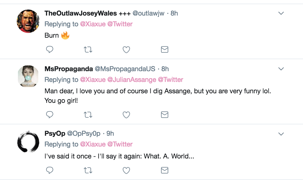 Roger Stone told two people he was in contact with Julian Assange