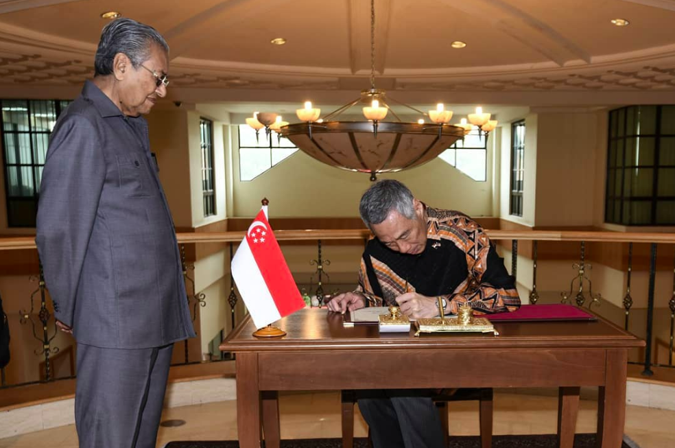 Mahathir confirms high-speed rail project with Singapore to be scrapped