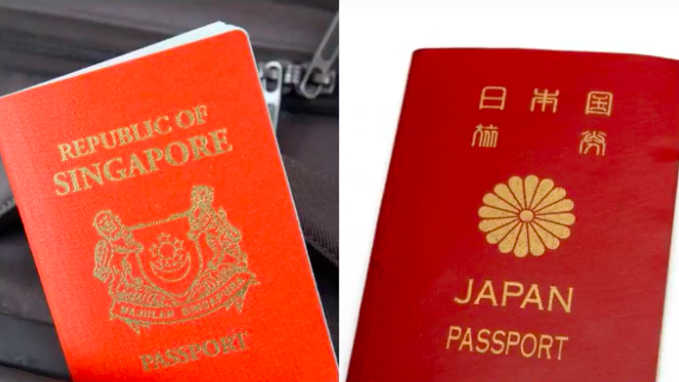 Japanese passport rises to most powerful