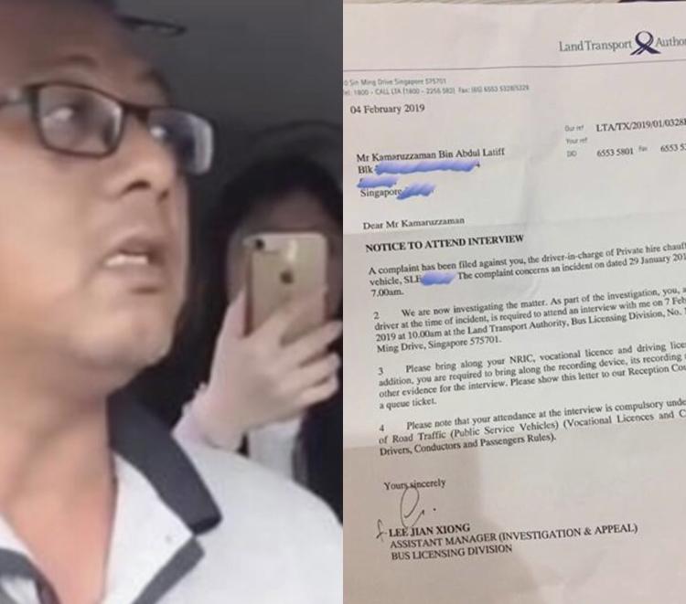 Go Jek: LTA Summons Go-Jek Driver Who Went Viral For Taking