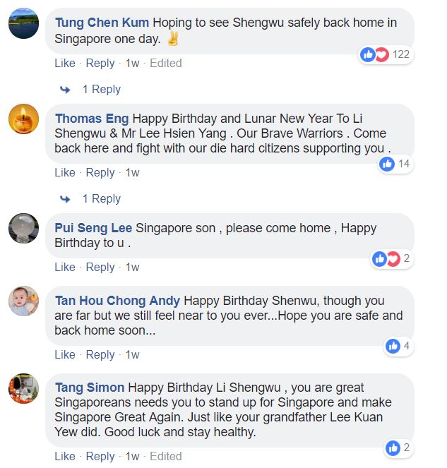 Calls for Li Shengwu to return and fight for Singapore