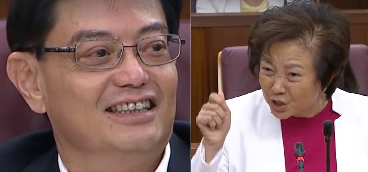 Ownself praise ownself? Lee Bee Wah draws flak for comparing the Govt to a generous grandfather