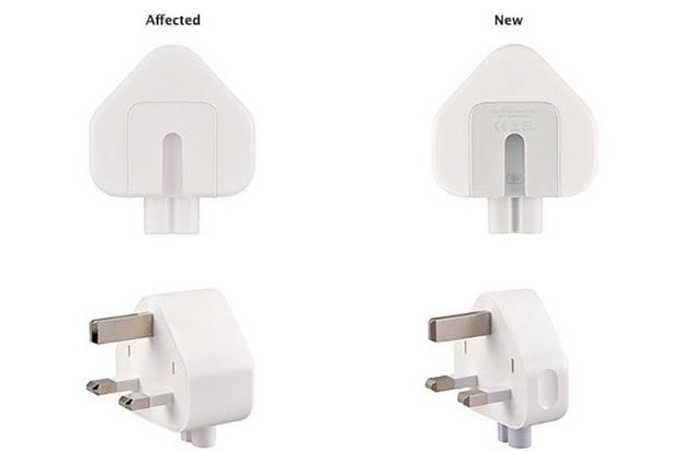 Apple recalls United Kingdom  plug adaptors over electric shock fears