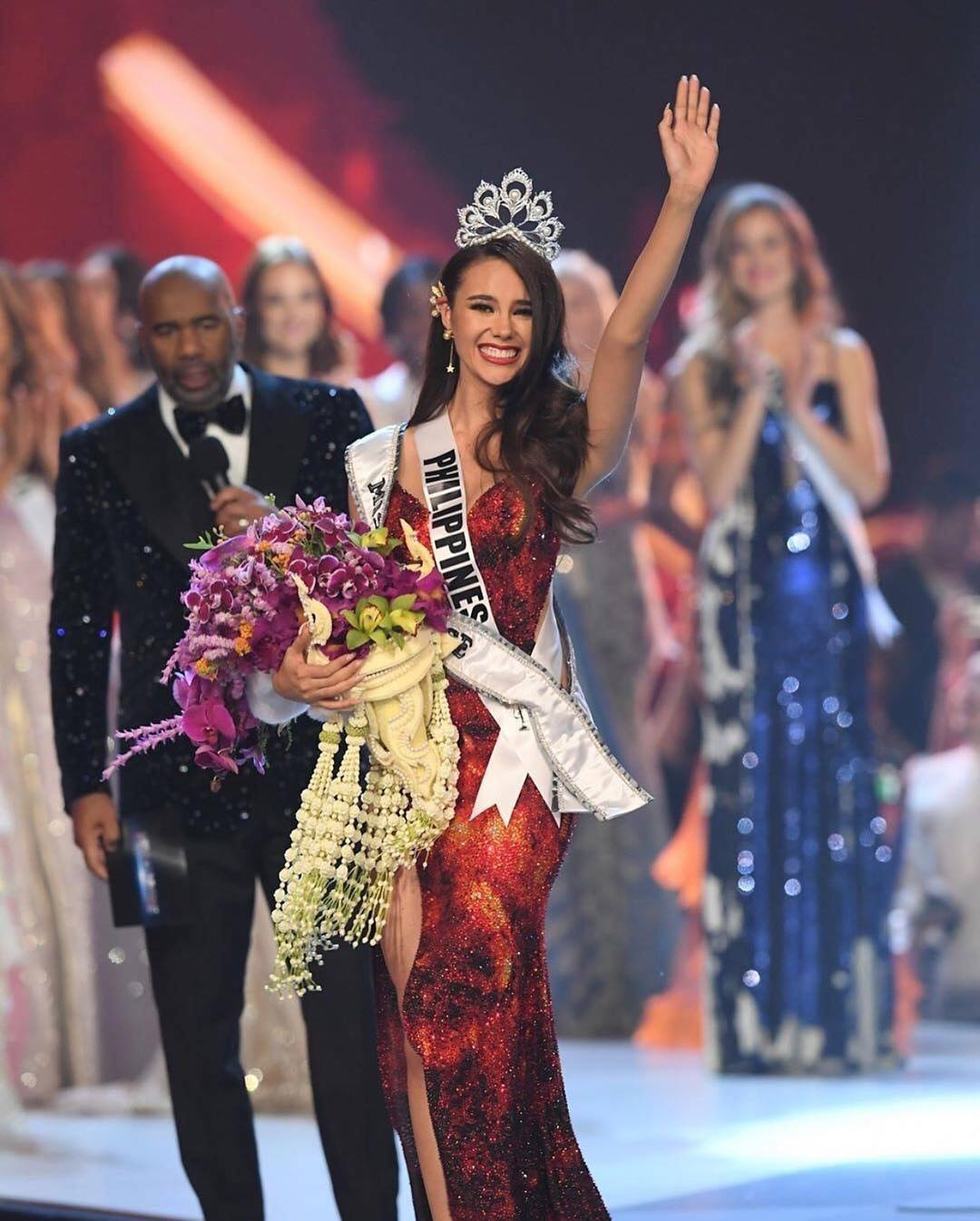 The transgender Miss Universe contestant got a standing ovation